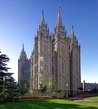 The Salt Lake Temple, which took 40 years to build, is one of the most iconic images of the LDS Church.