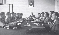Session of the Provisional Government of Lithuania in Kaunas