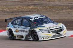 Chevrolet Official Team Cruze racing car in 2011.