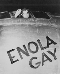 The first aircraft to drop an atomic bomb, the Enola Gay was built at Offutt Air Force Base, south of Omaha.