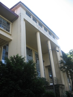 The Main Library (Gonzalez Hall) in UP Diliman