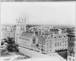 Union Theological Seminary in the City of New York, headquarters of the New School Presbyterians (1910)