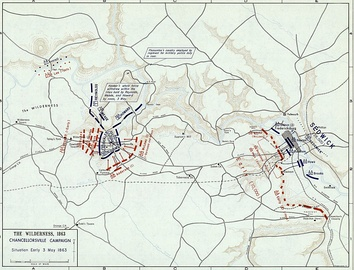 Battle of Chancellorsville, 3 May 1863 (Situation Early)