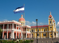 The Colonial City of Granada near Lake Nicaragua is one of the most visited sites in Central America.