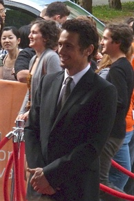 Franco at the premiere of 127 Hours.