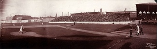 1903 Boston vs Chicago at Huntington Avenue Grounds