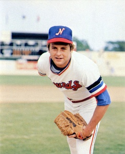 Cooper with the Nashville Sounds in 1980