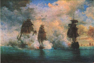 Action of 26 May 1829, by Nikolay Krasovsky.