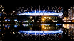 BC Place is a multi-purpose stadium that is home to the BC Lions of the CFL and the Vancouver Whitecaps FC of MLS.
