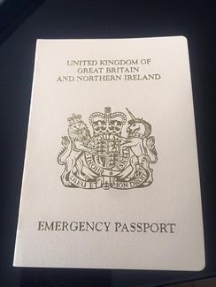 British Emergency Passport