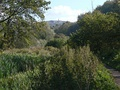 The Derwent Valley Heritage Way next to the Cromford Canal
