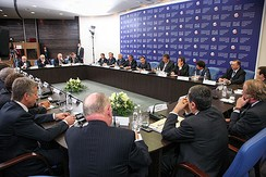 The Saint Petersburg International Economic Forum is a major Russian investment forum