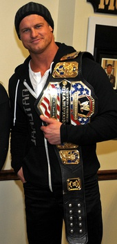 Ziggler is a two-time World Heavyweight Champion.
