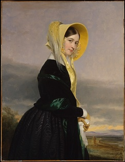 Paterson's granddaughter, Euphemia White Van Rensselaer (1816–1888), painted by George P. A. Healy, 1842
