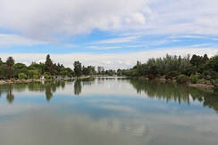 Lake in General San Martín Park