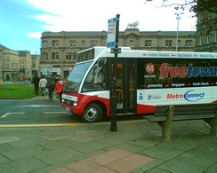 Huddersfield Free Town Bus