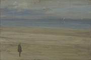 James Abbott McNeill Whistler, Harmony in Blue and Silver:Trouville, 1865