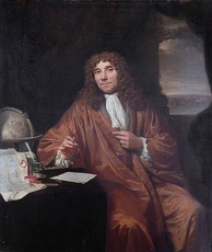 Antonie van Leeuwenhoek, the father of microbiology, cell biology and bacteriology.