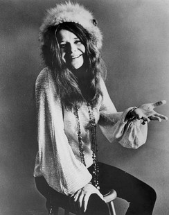 Joplin photographedby Jim Marshall in 1969,[28]one year before her death