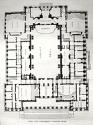 Ground plan of the Town Hall