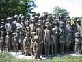 Memorial to the murdered children of Lidice.