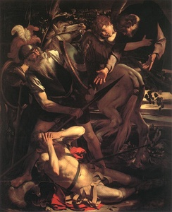 The Conversion of Saint Paul, a 1600 painting by the Italian artist Caravaggio.