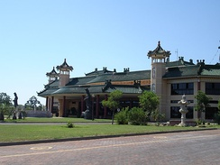 Nan Hua Temple in Bronkhorstspruit, South Africa.