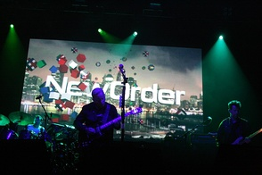 New Order perform in 2012