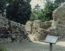 Remains of the Saxon cathedral at North Elmham