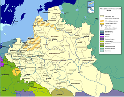 Polish-Lithuanian Commonwealth in 1648