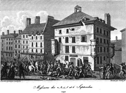 Massacre of prisoners in Paris prisons (September 2–7, 1792)