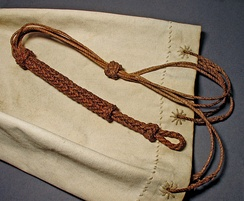 Sailor Bag with different knots.