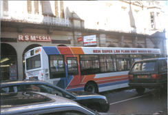 A Stagecoach Highlands bus in Inverness, 1999