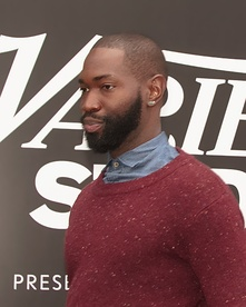 Tarell Alvin McCraney at the 2016 Toronto International Film Festival