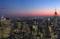 New York City – Largest urban area in the Americas, with a population of 18,351,295 in 2010.[citation needed]