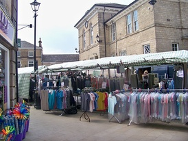 Wetherby town's market