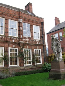 Wilberforce House, home of the museum dedicated to William Wilberforce.