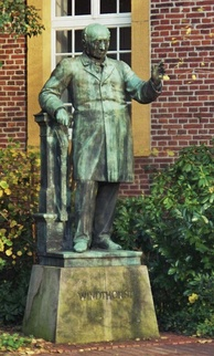 Memorial at the Meppen Windthorst school
