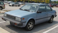 1985–1986 Nissan Sentra two-door coupe