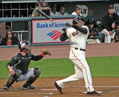 Barry Bonds holds the all-time home run record in Major League Baseball