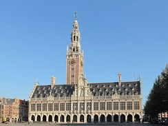 The Central Library of the KU Leuven University