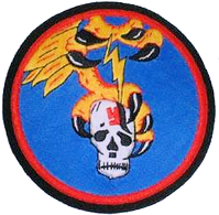 World War II 351st Fighter Squadron Emblem