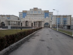 Istiqlol Medical Complex in Dushanbe