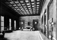 The New Reich Chancellery's work-study office/room for Hitler in 1939.