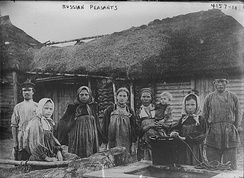 Russian peasants. The Left-SRs presented itself as their main representative and sole defender of the populist program against the passivity of the moderate Socialist Revolutionary Party. The reforms they led during the first months of 1918 gave the government significant support in the countryside.