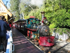 Disneyland Railroad Engine, 2.