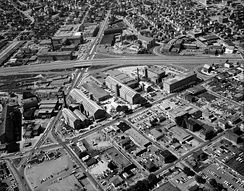 I-195 in Fall River, photo from 1968