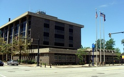 The Erie Municipal Building on State Street