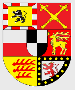 Coat of arms of the House of Hohenzollern-Sigmaringen