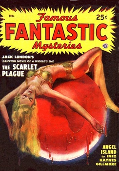 Angel Island was reprinted in the February 1949 issue of Famous Fantastic Mysteries